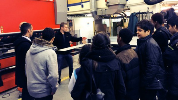 Visites d'un site de maintenance de la RATP