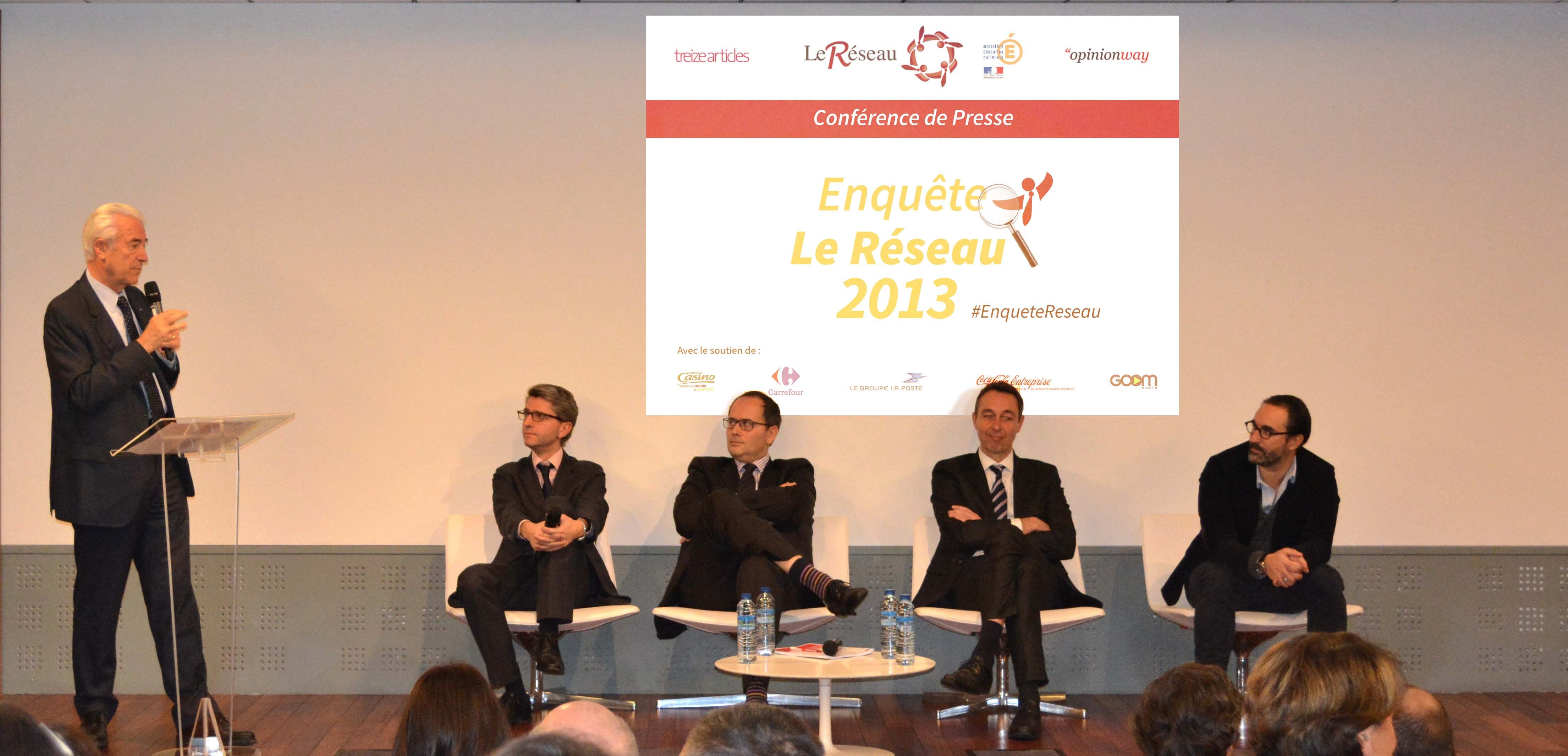 L'enquête 2013, un bilan positif pour Le Réseau