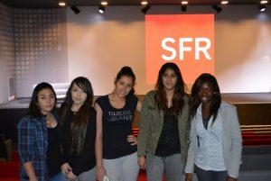 Une matinée chez SFR pour deux classes de lycéens