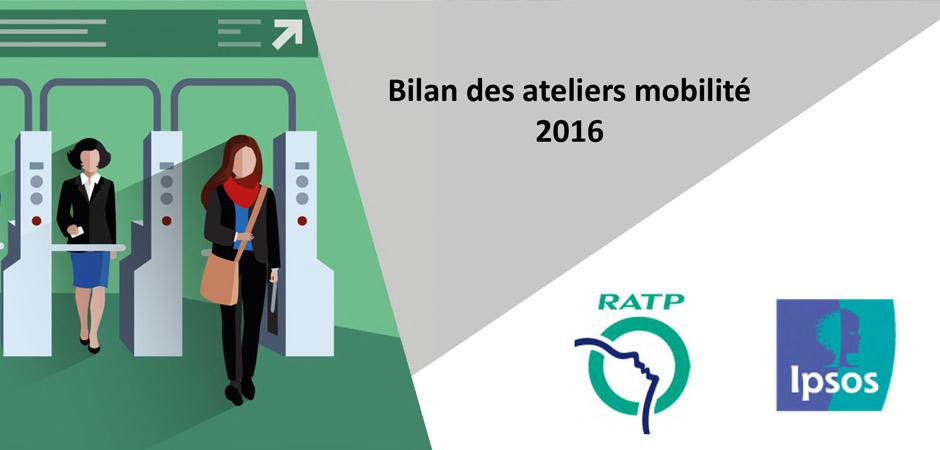 « ateliers mobilité » de la RATP