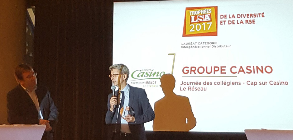 Les entreprises du « Réseau » récompensées aux trophées LSA 2017