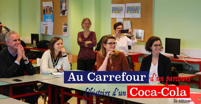"""Clôture de la 3ème édition du projet : """"Au Carrefour d'un parcours, l'histoire d'un Coca-Cola"""""""