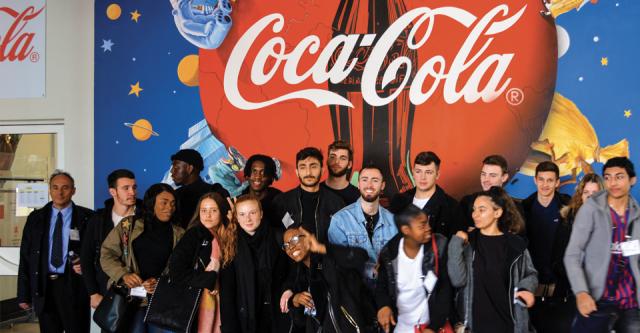 5. Visites à l'usine de Coca-Cola European Partners de Grigny