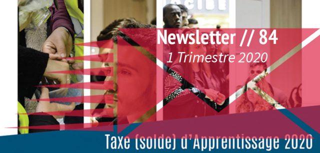 newsletter 1er trimestre 2020